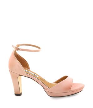 dd39ceb09dc5 ➤ Růžové sandály na podpatku s páskem MARIA MARE - Levná i značková ...