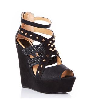➤ Černé sandály na platformě Timeless Odalis - Levná i značková obuv b12c8f43ce